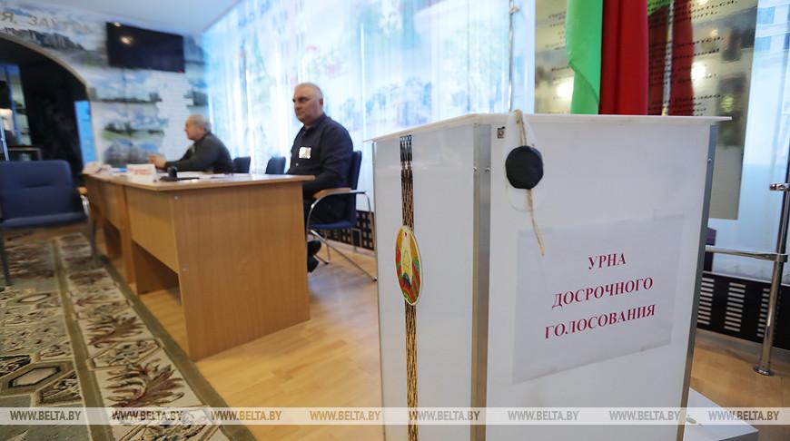 Явка избирателей за два дня досрочного голосования составила 11,51%