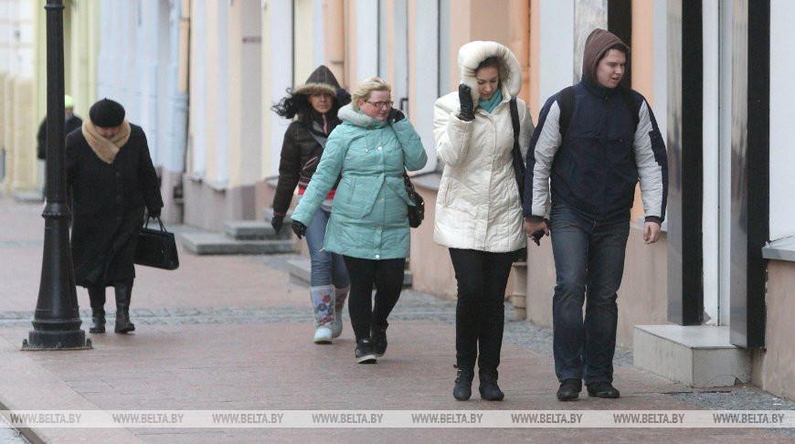 Оранжевый уровень опасности объявлен в Беларуси 23 января из-за сильного ветра