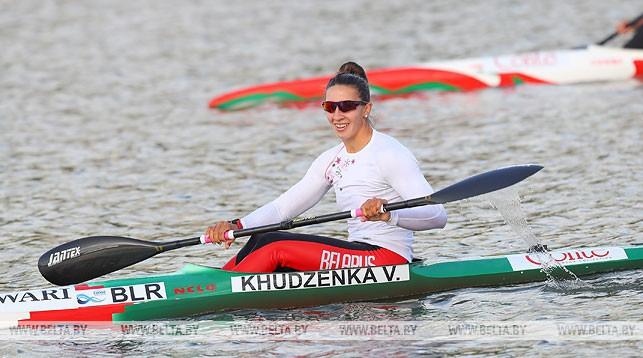 Пять наград завоевали белорусские атлеты на этапе КМ по гребле на байдарках и каноэ в Польше