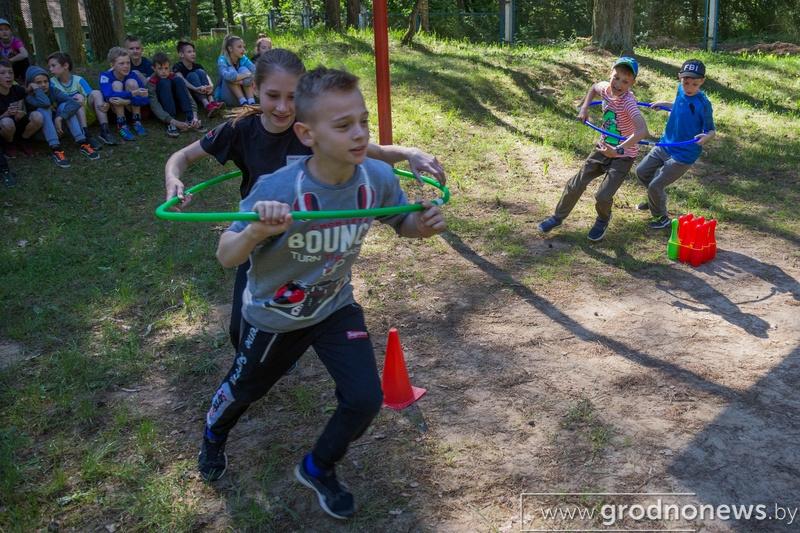 Детский отдых: безопасно и с пользой. Около 34 тысяч детей планируют оздоровить на Гродненщине нынешним летом