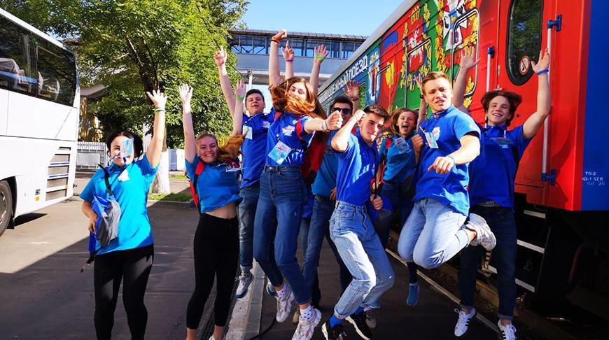 В путь из молодежной столицы. В Гродно стартует проект «Республиканский молодежный поезд #БеларусьМолодежьЕдинство»