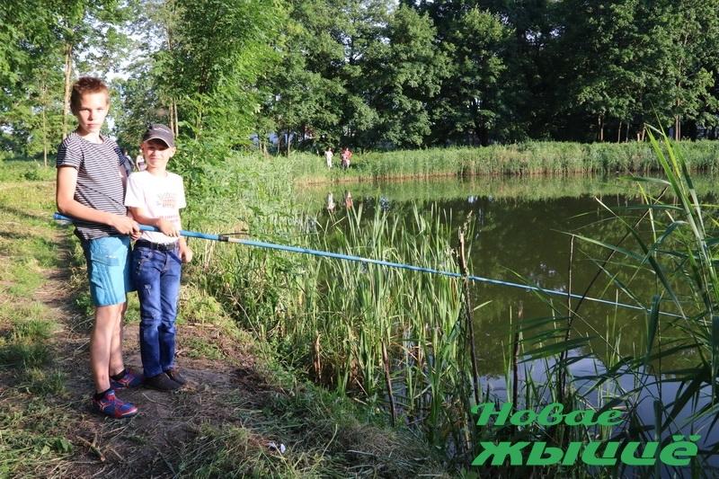 «Рыбалка у графа Хрептовича» прошла в агрогородке Щорсы