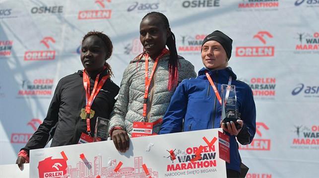 Белоруска Нина Савина завоевала бронзовую медаль марафона в Польше