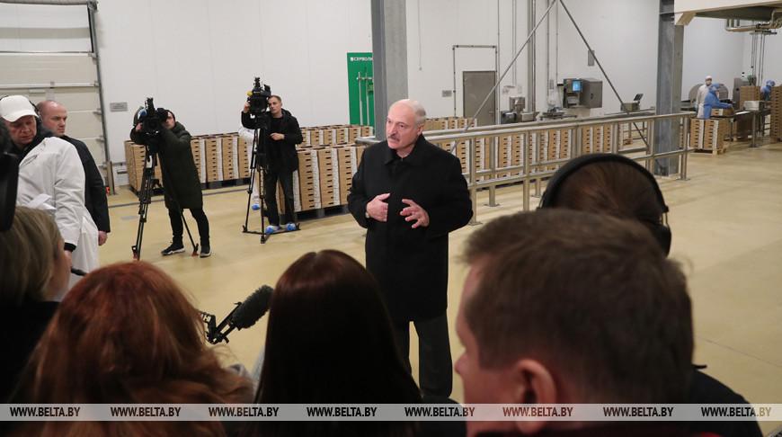 Тема недели: Рабочая поездка Александра Лукашенко в Смолевичский район