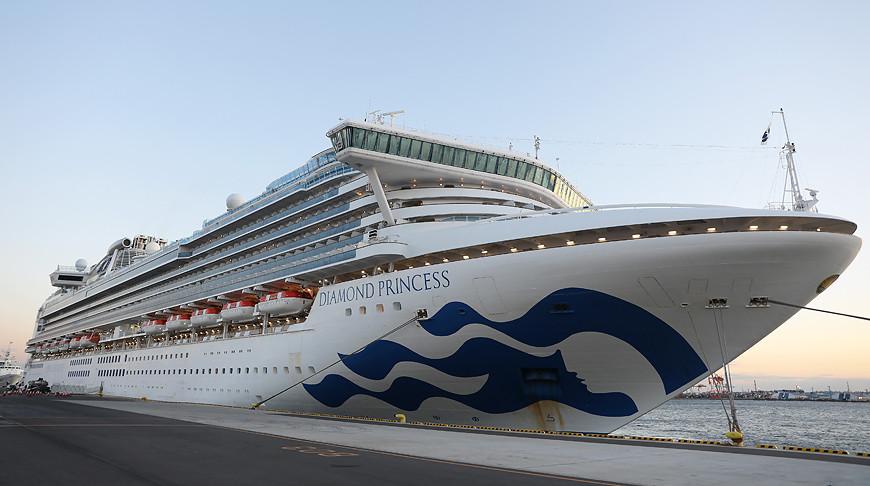 Число заразившихся коронавирусом на борту лайнера Diamond Princess достигло 285 человек