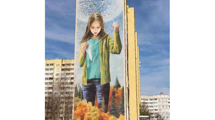 Мурал белорусского художника «Лiчбавы свет» стал лучшим в мире