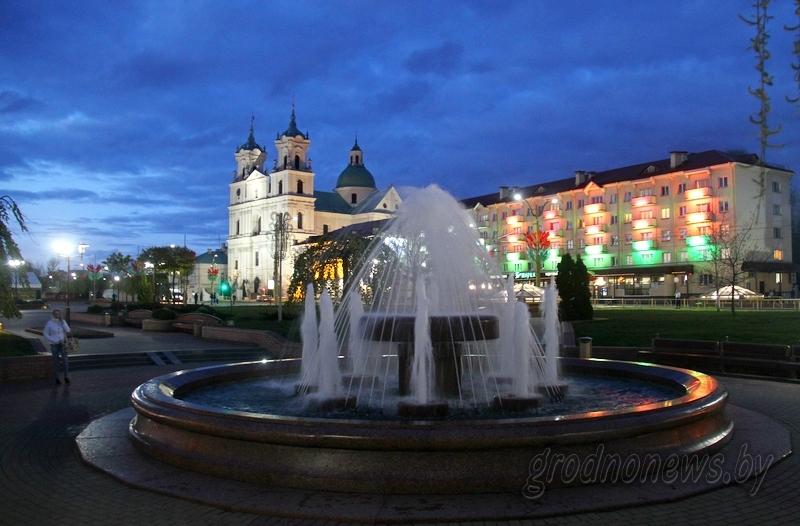 Площадь советская фонтан гродно фото