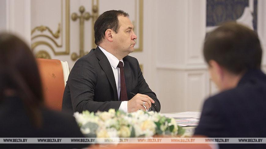 Роман Головченко рассказал о возможных сроках, формате и тематике Всебелорусского народного собрания