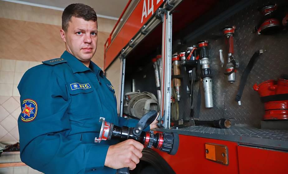 «Человек года Гродненщины» Андрей Милейко – о профессии, службе и взаимовыручке в рядах спасателей
