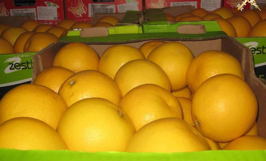 «Забыл» указать в документах. В пункте пропуска «Берестовица» изъяли грейпфруты на сумму более 2000 рублей
