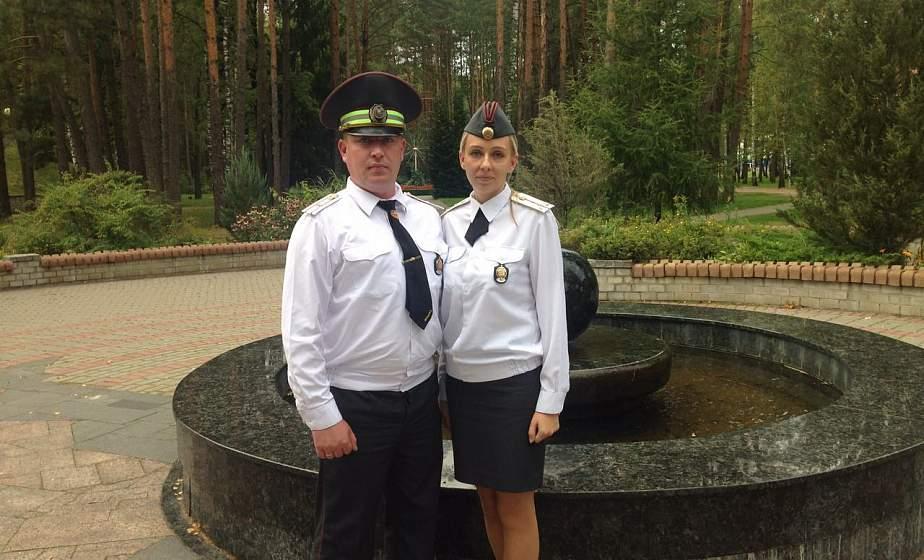 В Ошмянах семейная милицейская пара, возвращаясь домой со службы, задержала пьяных угонщиков