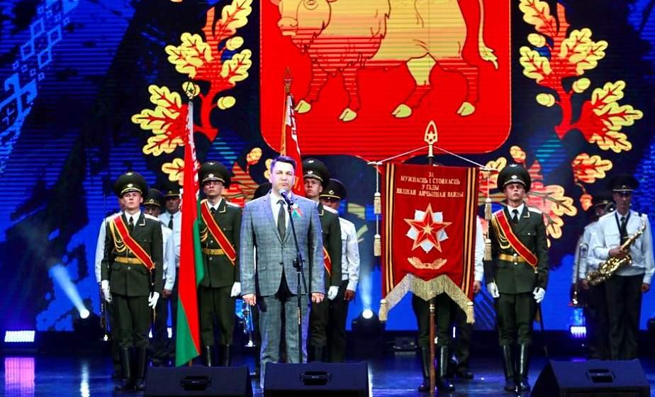 «Это мой народ любимый, это Беларусь моя!» В Гродно состоялся торжественный концерт, посвященный Дню Независимости