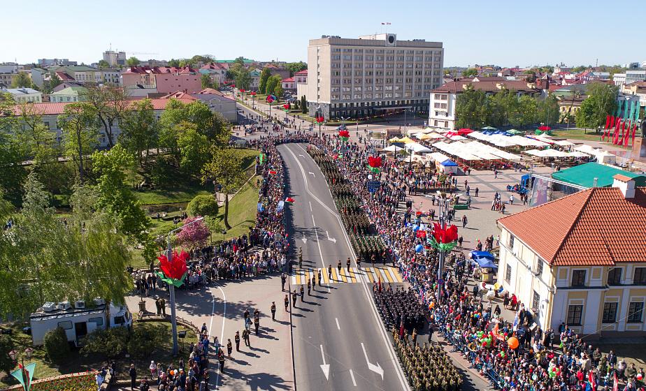 Гродненщина празднует День Победы (обновляется)