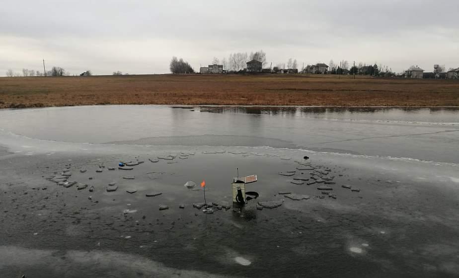 В Лидском районе утонул 30-летний мужчина, который вышел рыбачить на неокрепший лед