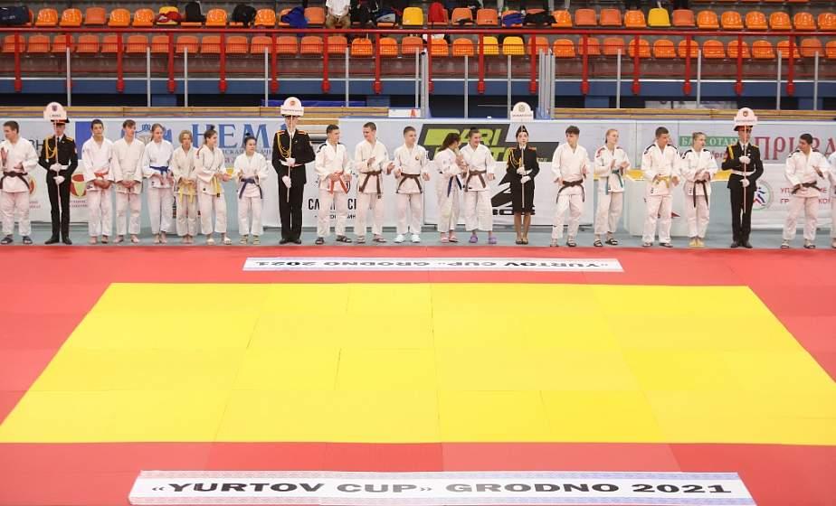 В Гродно проходит областной открытый турнир по дзюдо «Кубок Юртова»
