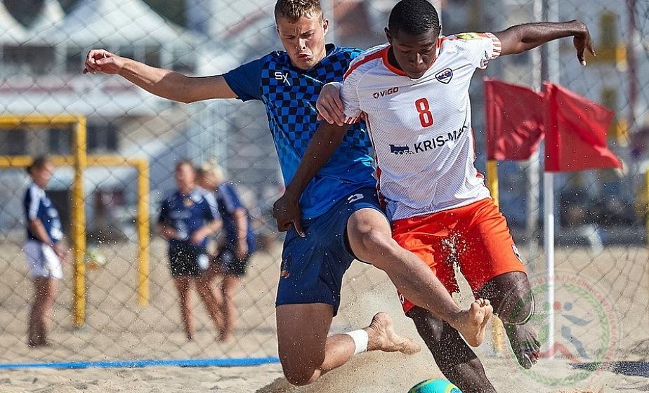 Стартует шестой чемпионат Гродненской области по пляжному футболу