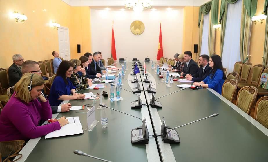 Прочный фундамент для дальнейшего сотрудничества. Делегация Европейского парламента посетила Гродно