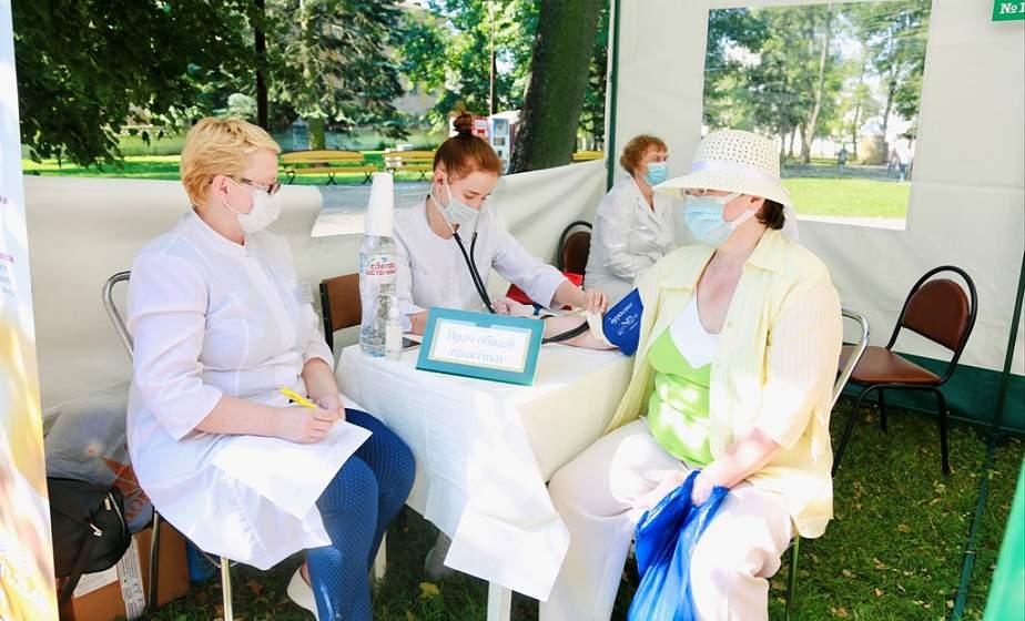Бесплатные консультации широкого профиля. В центре Гродно развернулся «Медицинский городок»