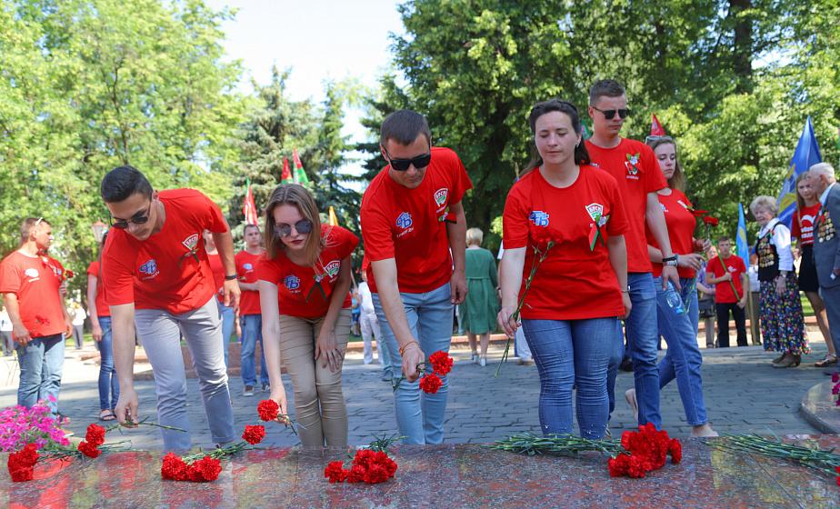 Мобильная экспозиция и  масштабный опен-эйр. Гродненщина принимает молодежный марафон «75»
