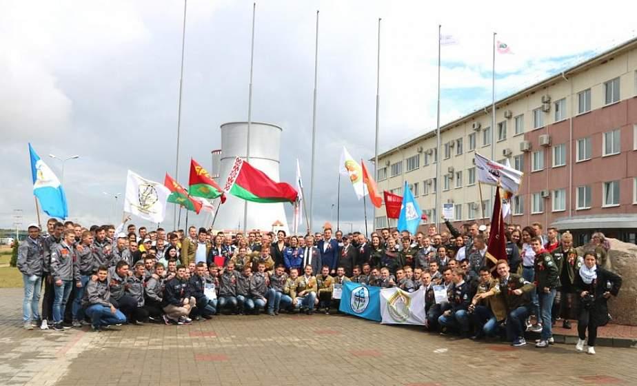 Третий трудовой семестр Всебелорусской молодежной стройки открылся в Островце (дополнено)