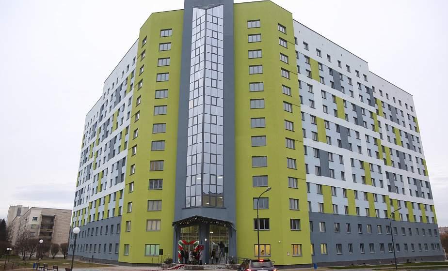 Больше 1000 студентов и комфортные комнаты. В Гродно открыли новое общежитие медуниверситета