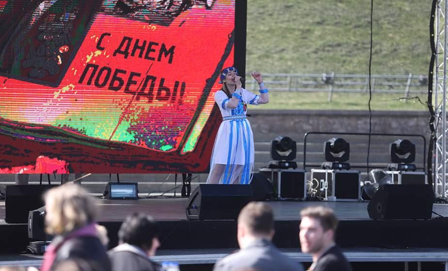 «Сердце земли моей». В Гродно прошел областной фестиваль патриотической песни