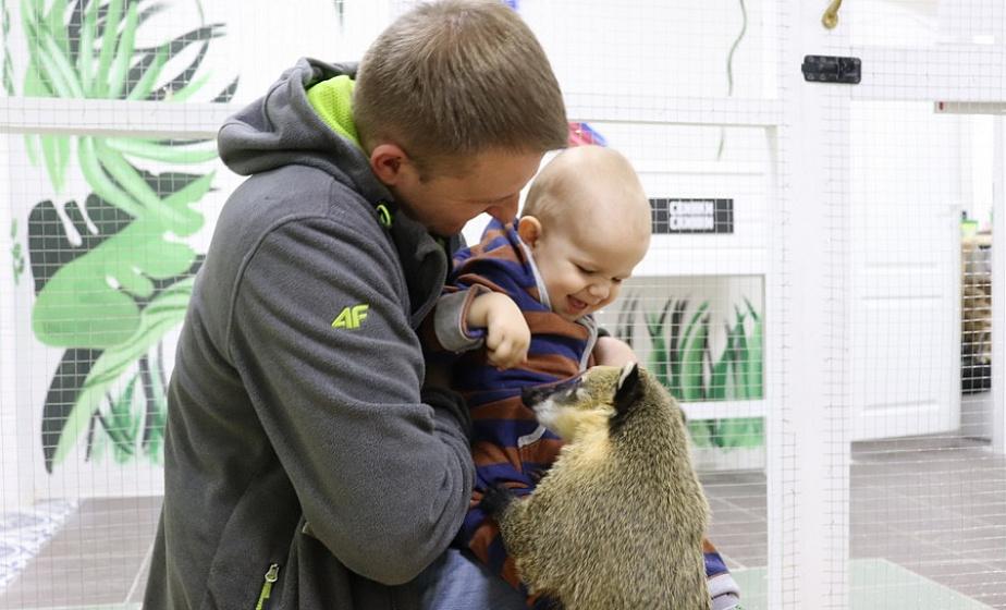 Фоторепортаж. В Лиде открылся первый контактный зоопарк