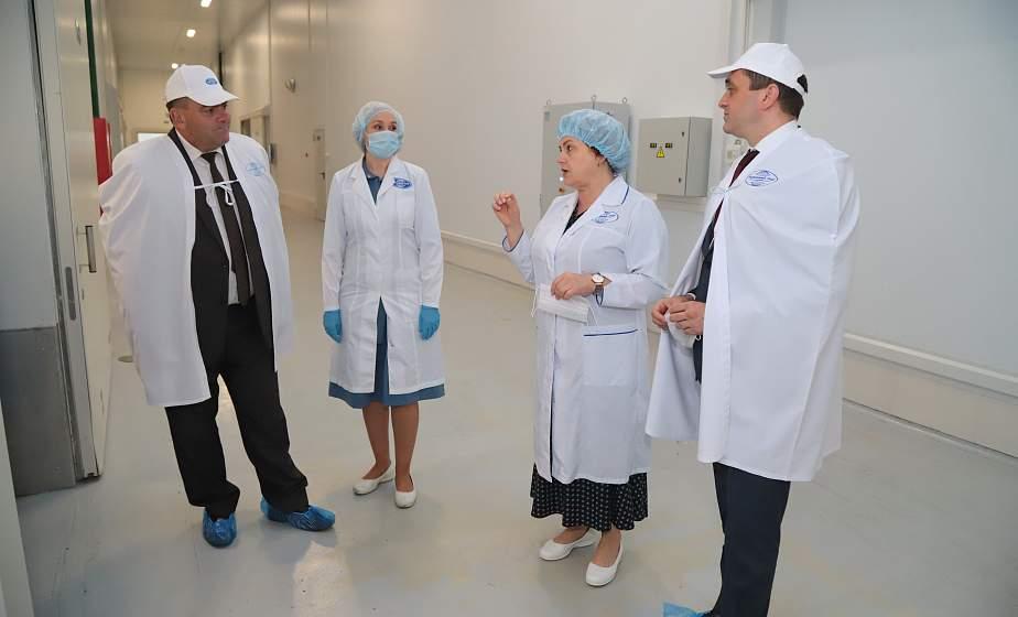 Заместитель премьер-министра Беларуси Александр Субботин посетил Гродно с рабочим визитом