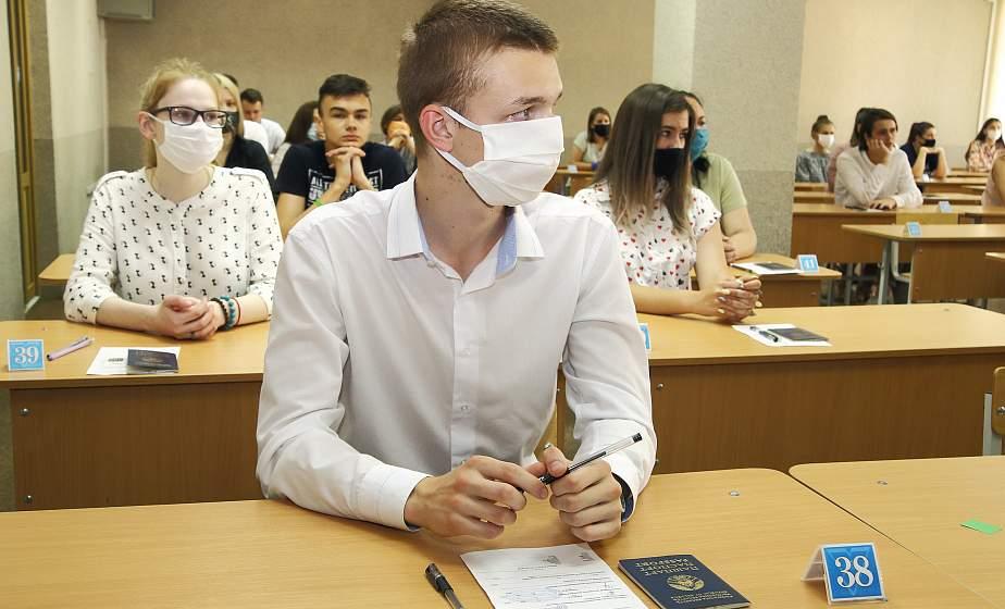 Первое из одиннадцати. В Гродно прошло централизованное тестирование по белорусскому языку
