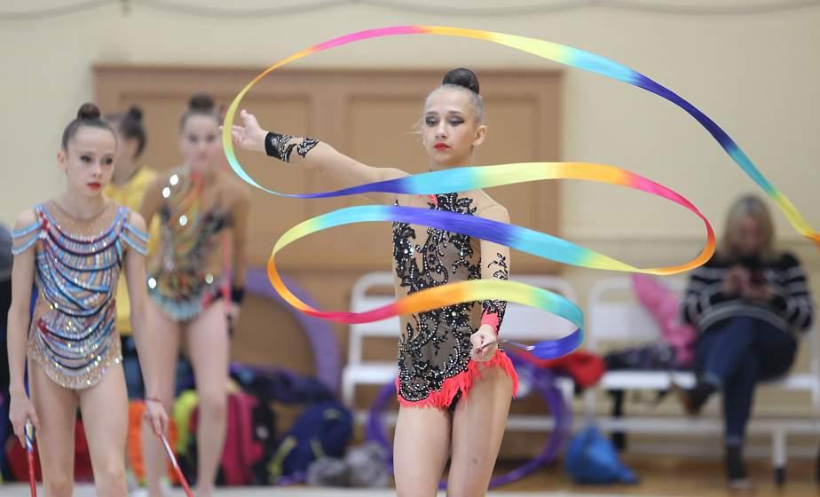 Праздник грации и изящества. В Гродно стартовали Олимпийские дни молодежи РБ по художественной гимнастике (+видео)
