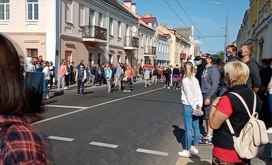 Около 900 жителей Гродненской области приняли участие в несанкционированных мероприятиях 20 сентября
