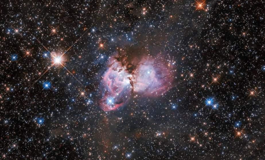 """Телескоп Hubble снял """"звездную колыбель"""" в туманности Тарантул"""