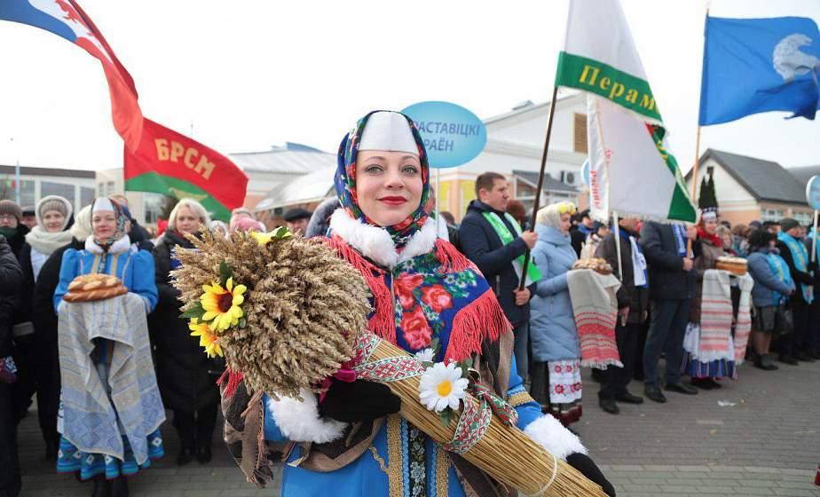 В Сморгони отпраздновали областные «Дажынкі-2019»: масштабный фестиваль и невероятные эмоции (+видео)