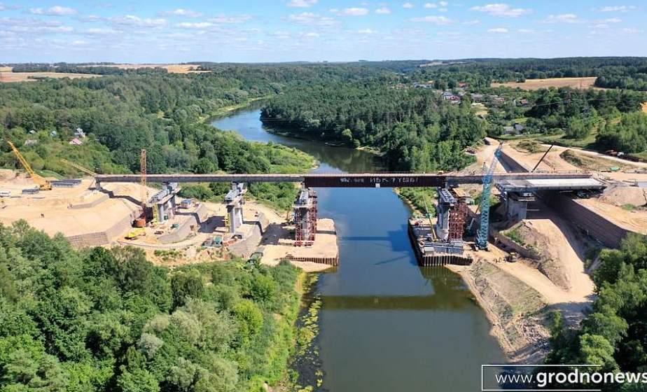 В октябре начнутся подготовительные дорожные работы в зоне реконструкции моста в Гродно с левого берега Немана