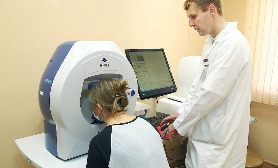 Хрустальная операция, дренаж для глаза и детали из криокамеры. Современные методы лечения и предупреждения заболеваний органа зрения предлагают гродненские офтальмологи