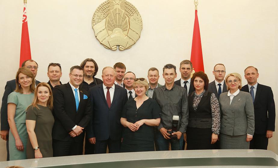 Большой пресс-тур для российских тележурналистов проходит в Гродненской области