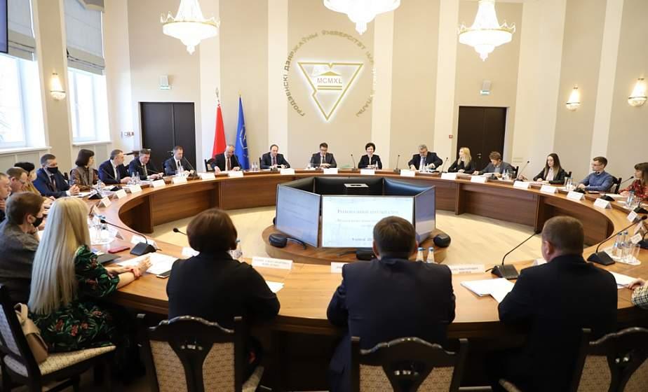 Вопросы занятости молодежи обсудили за круглым столом в ГрГУ имени Янки Купалы