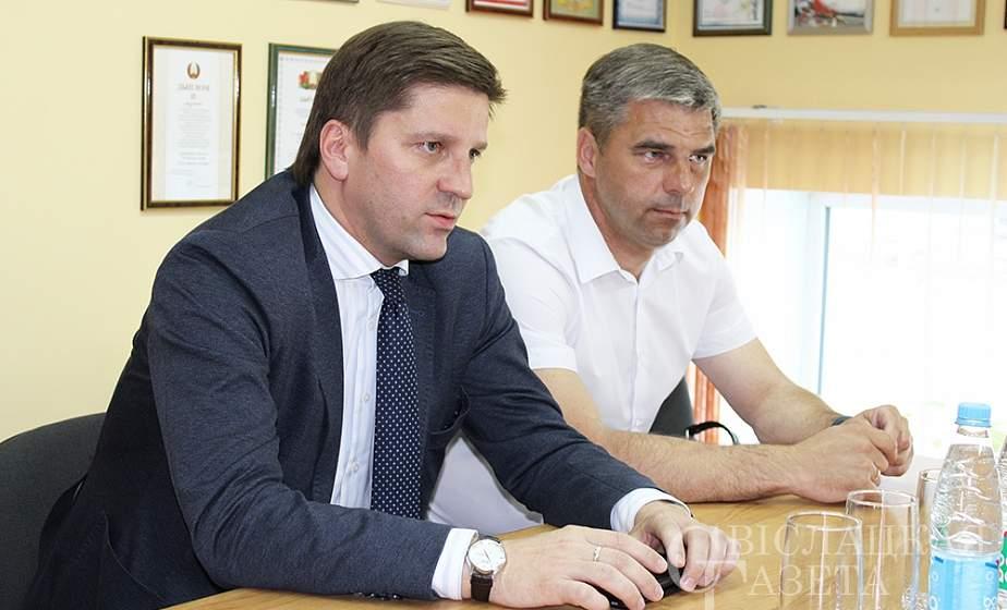 В редакции «Свiслацкай газеты» состоялась встреча с председателем Национальной государственной телерадиокомпании Республики Беларусь Иваном Эйсмонтом
