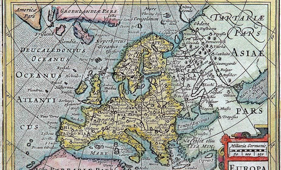 Тайны и приключения. В Мирском замке покажут древние эксклюзивные карты Беларуси со времен ВКЛ