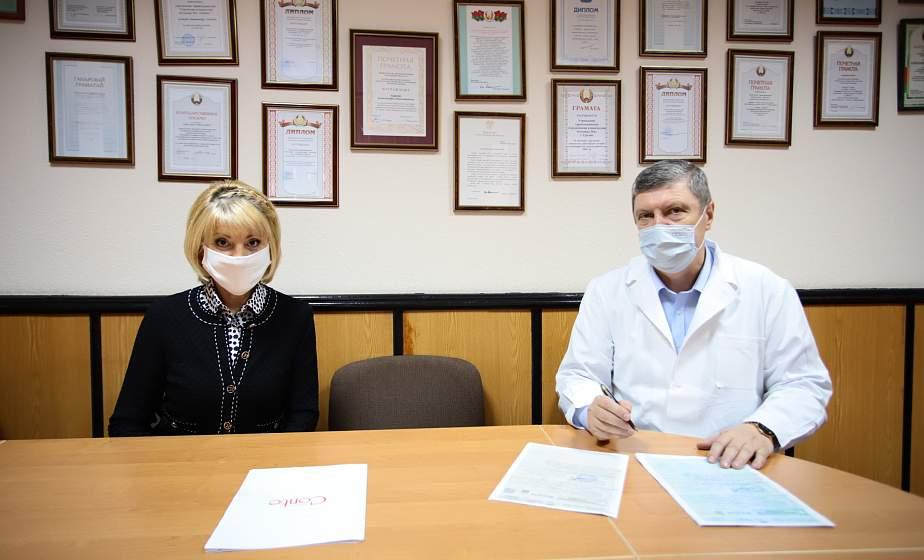 Помощь во благо жизни. Кислородные концентраторы переданы в городскую клиническую больницу №4 города Гродно