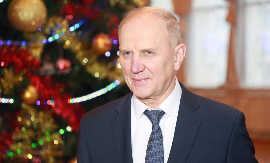 Новогоднее поздравление председателя Гродненского облисполкома Владимира Кравцова
