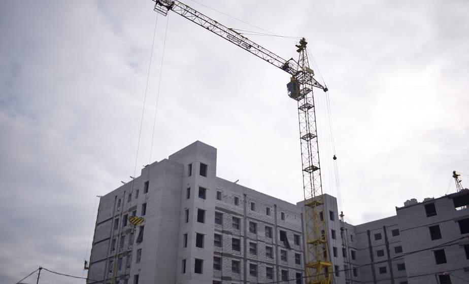 Строительство онкодиспансера в Гродно: выполнено почти 40% работ