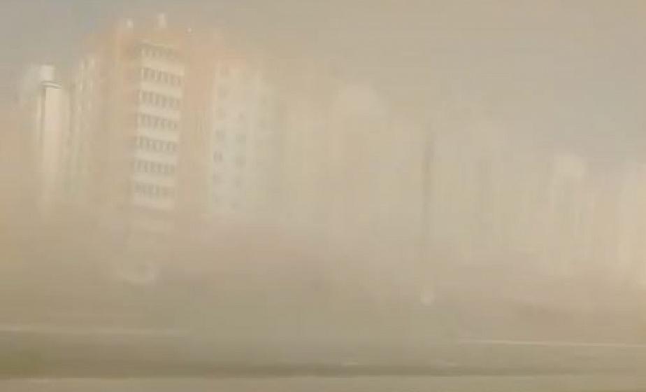 Песчаная буря в Гродно: небывалое природное явление достигло наших широт