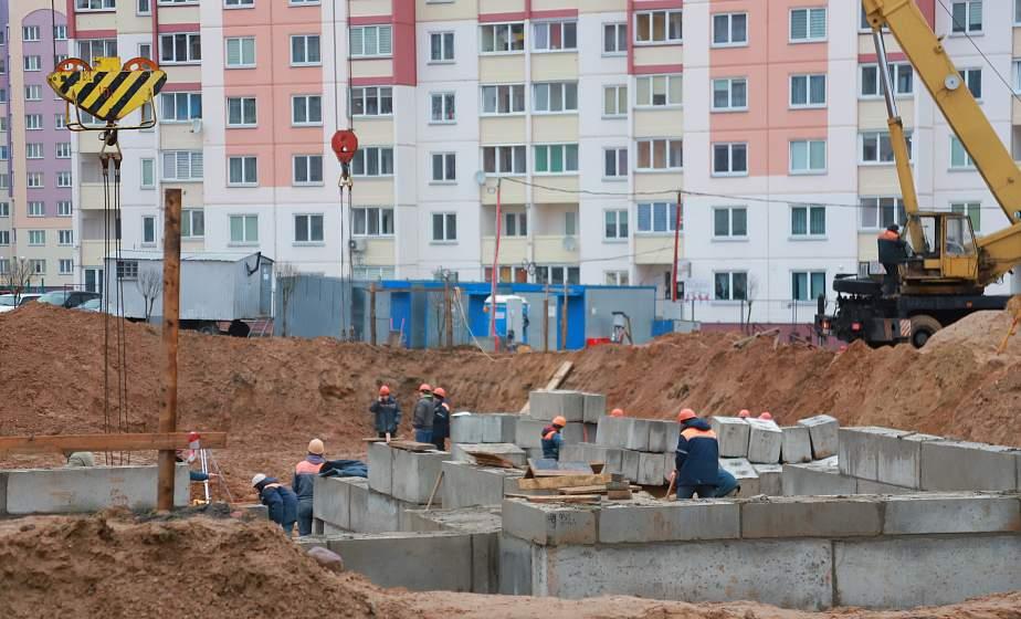 Хореографический зал, бассейн и игровые. В гродненском микрорайоне Ольшанка ведется строительство пятого детского сада