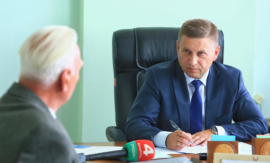 """Иван Лавринович: """"Власть на местах оперативно решает вопросы, волнующие население"""""""