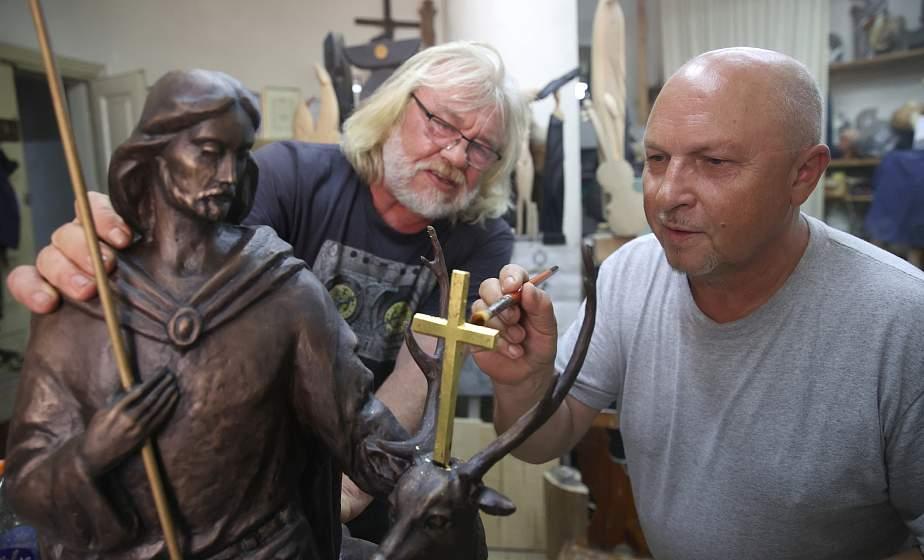 Скульптура cвятого Губерта появится в Гродно