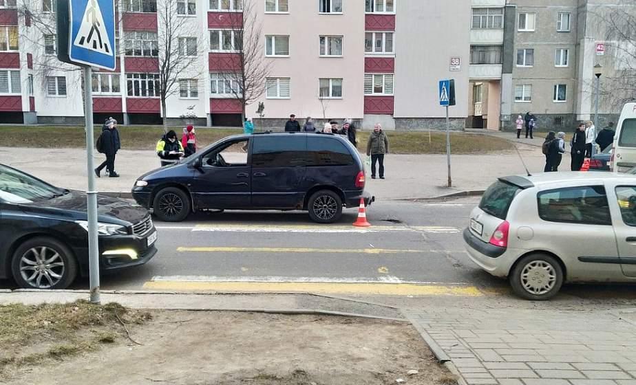 В Гродно на пешеходном переходе автомобиль сбил 9-летнего велосипедиста