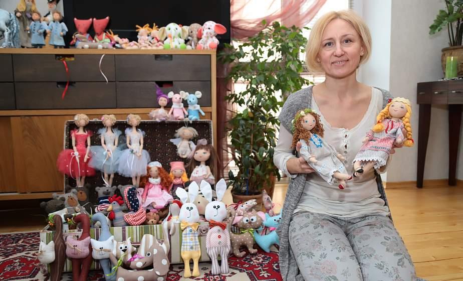 Куклы на «Казюках». Как для Светланы Косенко работы из натуральных материалов стали путёвкой в бизнес