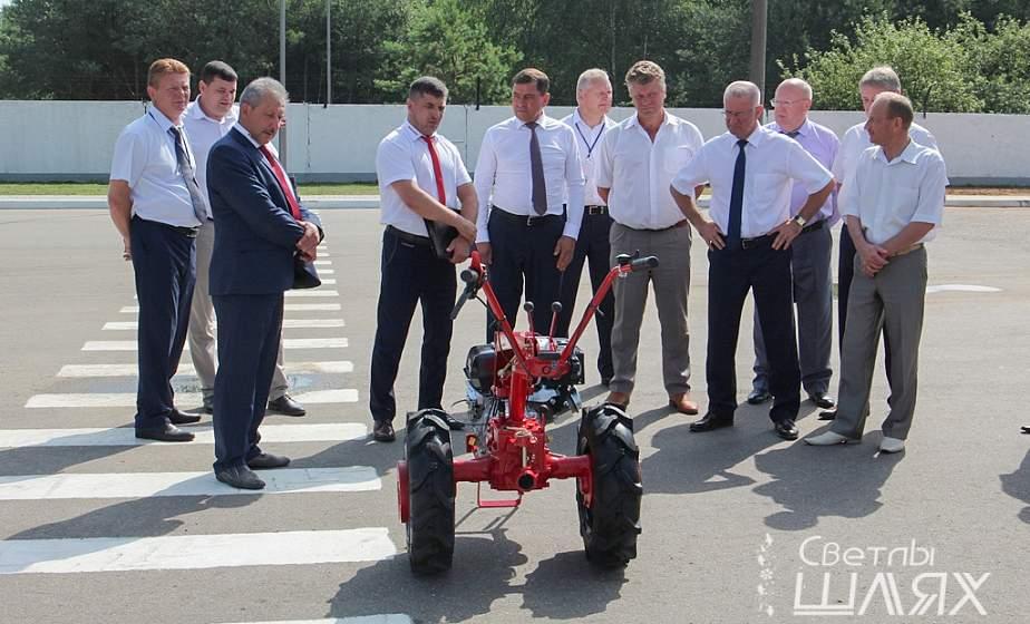В Сморгони прошла выездная сессия областного Совета депутатов