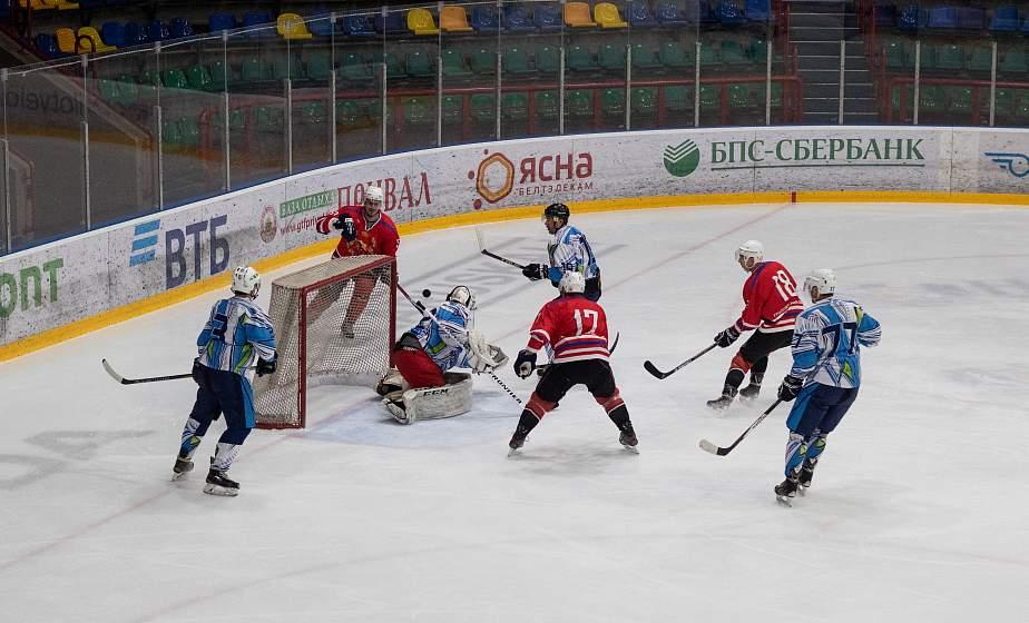 Команда Гродненской области уступила команде Витебской области в матче республиканских соревнований по хоккею среди любителей
